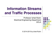 Section 9 Information Streams and Traffic Processes