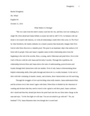 love at first sight essay dougherty rachel dougherty ms whall 3 pages a pearl of an essay