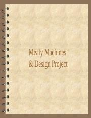 23.1 Mealy Machines & Design Project
