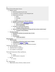 HST Midterm Study Guide