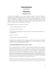 Product liability in India.pdf