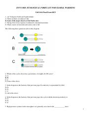ENVS80B Sample Final Exam KEY-1