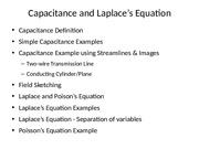 Engr302 - Lecture 6 - Capacitance and Laplace-s Equation.pptx