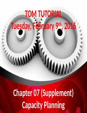 2016-02-09 - Tutorial Chapter 07S