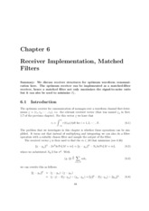 5ETB0-Ch6-ReceiverImplementationMatchedFilters