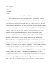 Response Journal 5 What Happens to a Dream Deferred.docx