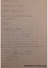 Integration by Parts Class Notes