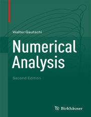 numercial analysis walter
