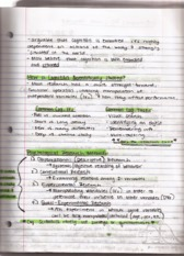 Lecture 1 Cognitive PsychologyNotes Continued