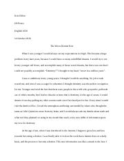 Unfulfilled Dreams Essay for Composition.docx