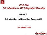 Lect6_Introduction to Distortion Analysis(II)