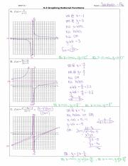 HW - 5.3 Graphing Rational Function - Solutions.pdf
