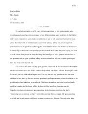 FINAL LETTER PROJECT