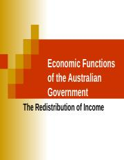 7. Redistribution of income.ppt