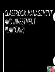 classroom investment and management [Autosaved].pptx