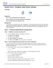 smcneil - 6.4.1.3 Packet Tracer - Configure Initial Router Settings.pdf