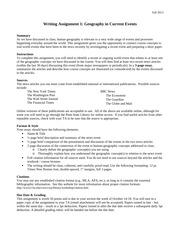 essay requirements uwo