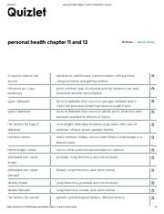 DISEASE personal health chapter 11 and 12 Flashcards.pdf