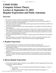 Lecture 4_ September 21, 2015