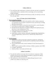 Asthma Teaching Plan - TEACHING CARE PLAN ASTHMA ...
