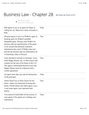 Business Law - Chapter 28 flashcards | Quizlet