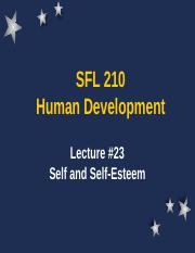 SFL 210 Lecture 23 (Chapter 11).ppt