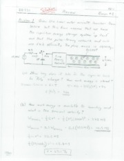 Exam_Review_II_Solution