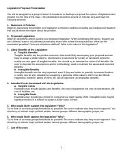 BA 3108 Legislation Proposal Assignment (1).docx