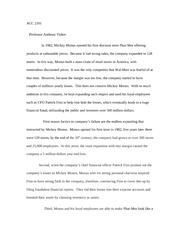 "phar mor fraud essay View full essay i am observing the case of phar-mor inc against michael ""mickey"" monus and coopers for accounting fraud."