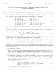 Recitation 2 Solutions