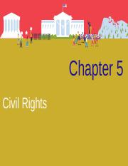 CH 5 Civil Rights