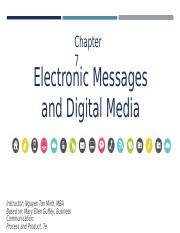 Chapter 7 - Electronic Message