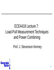 ECE4418+Lecture+8+-+Load+Pull+Power+Combining.pptx