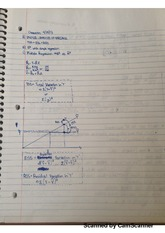 Econometrics Chapter #3 Classnotes
