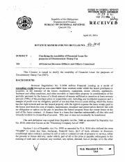 RMC 46-2014 DST Financial Lease