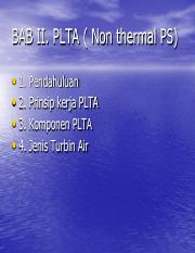 2-PLTA - Non Thermal