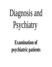 2. Diagnosis and Psychiatry.ppt