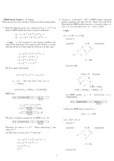 Exam 1 Study Guide Solution Spring 2010 on Engineering Mathematics III (Numerical Methods)