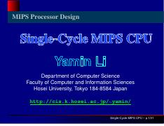 3. Single Cycle MIPS CPU.pdf