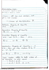 distributive laws notes