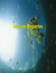 11-Properties of Seawater