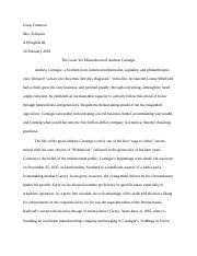 Carnegie Research Paper