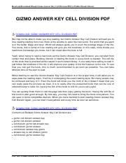 vibdoc.com gizmo answer key cell division.pdf   Read and ...