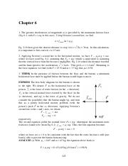 Halliday & Resnick 10th edition chapter 6 solutions