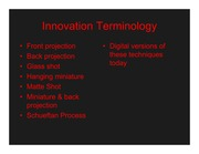 Technological-Innovations