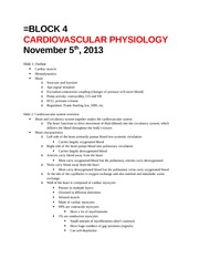 Physio Lecture 1