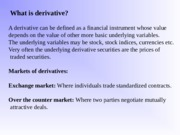 2. Derivatives