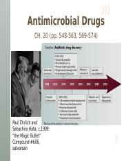 (Lecture 16 Notes, CV) - Antimicrobial Drugs, pt1.pptx