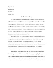 fountainhead essay from the wheel to the skyscraper man s genius 3 pages fountainhead essay