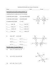 Parallel+Lines+Cut+by+a+Transversal.pdf - Worksheet#3(Parallel ...